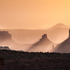 Golden Light Rays - Mesa Arch - Canyonlands National Park