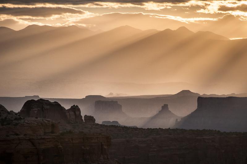 Shadows - Mesa Arch at Dawn