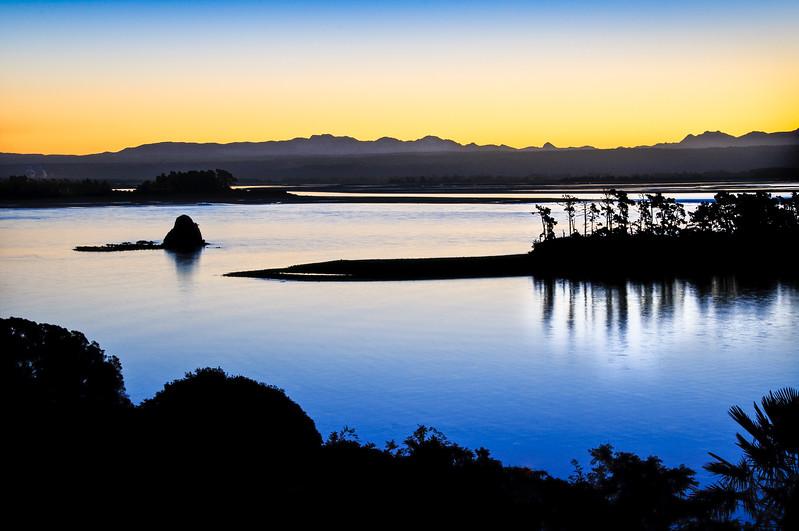 Alpine Glow over Nelson Bay