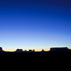 Monument Valley Panorama at Sunset