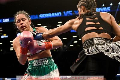 Boxing 2017 - Amanda Serrano Beats Yazmin Rivas by Unanimous Decision