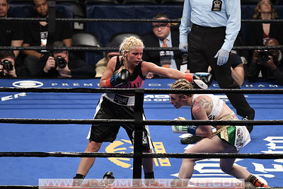 Boxing 2017 - Heather Hardy Defeats Edina Kiss by Unanimous Decision