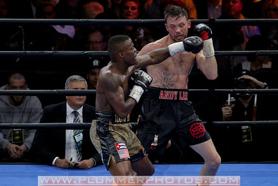 Boxing 2015 - Andy Lee and Peter Quilin Fight to a Split Draw