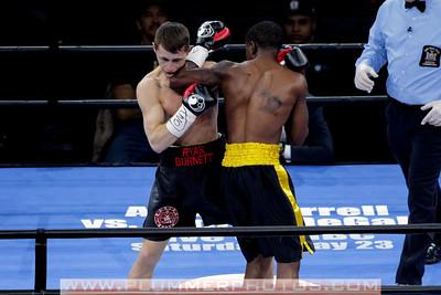 Boxing 2015 - Ryan Burnett knocks out. Stephon McIntyre in Round 1