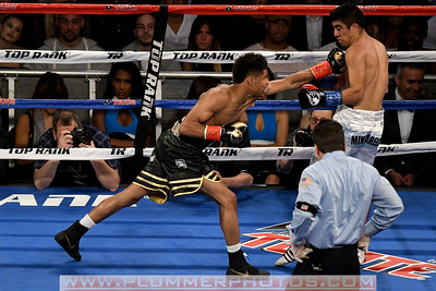 Boxing 2017 - Shakur Stevenson Defeats Carlos Suarez by First Round TKO