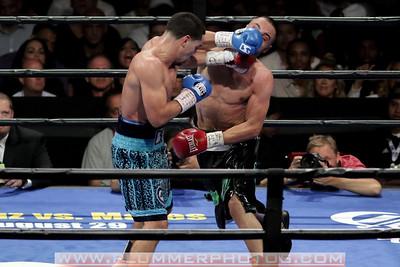 Boxing 2015 - Danny Garcia Defeats Paulie Malignaggi by 9th Round TKO