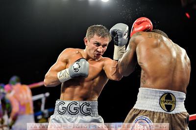 BOXING 2013 - Curtis Stevens vs Gennady Golovkin