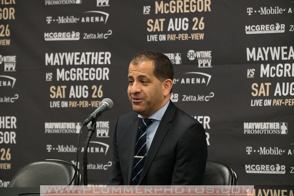 7/13/2017 Floyd Mayweather vs. Conor McGregor Press Conference
