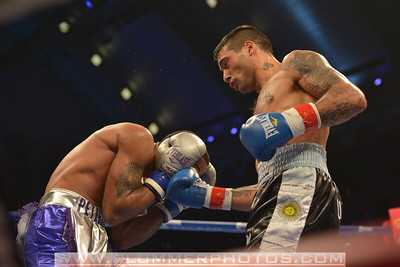 BOXING 2013 - Lucas Matthysse defeats Lamont Peterson by TKO