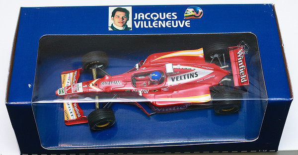 1998 #1 Williams Mecachrome FW20 Jacques Villeneuve (Race Livery)