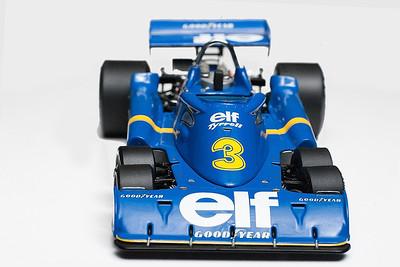 1976 #3 Tyrrell P34 Jody Scheckter GP97040 SOLD 10/21/12