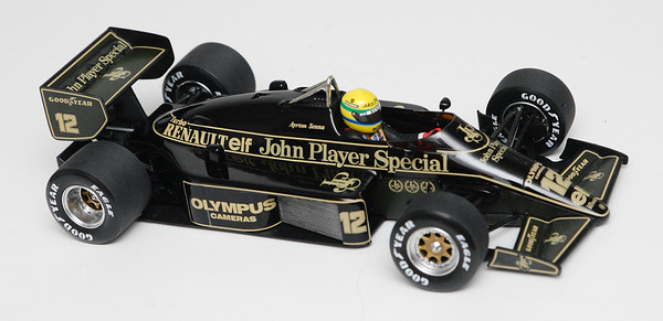 1985 #12 Ayrton Senna Lotus Renault 97T RACE LIVERY SOLD