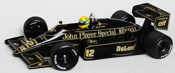 1986 #12 Ayrton Senna Lotus Renault 98T RACE LIVERY SOLD 1/20/14