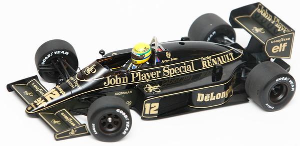 1986 #12 Ayrton Senna Lotus Renault 98T RACE LIVERY SOLD 3/6/13