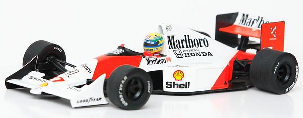 1990 #27 Ayrton Senna Mclaren Honda MP4/5B RACE LIVERY SOLD 3/19/13