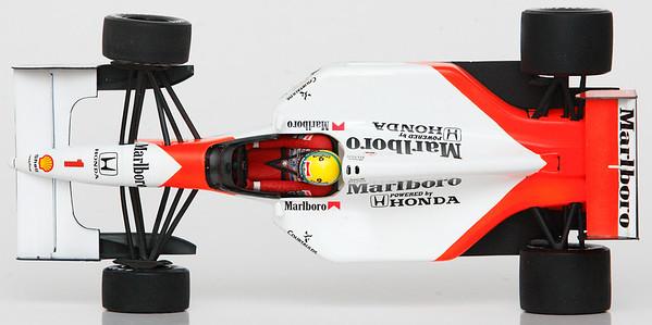 1992 #1 Ayrton Senna Mclaren Honda MP4/7 RACE LIVERY SOLD 1/23/14