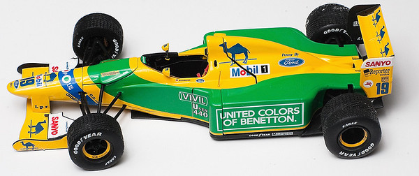1992 #19 Benetton Ford B192 Michael Schumacher SOLD 9/3/12