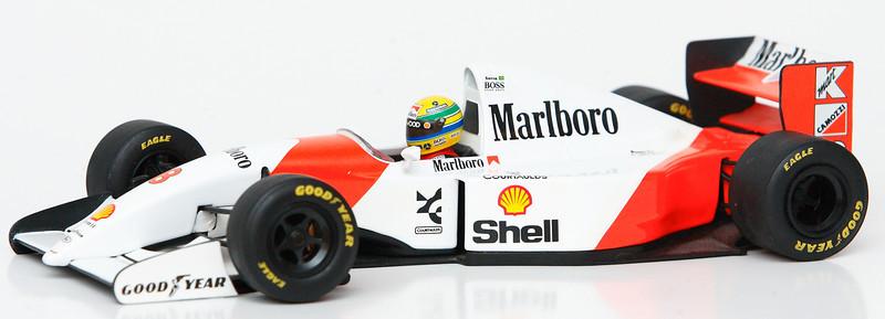 1993 #8 Ayrton Senna Mclaren Ford MP4/8 RACE LIVERY SOLD 3/28/13