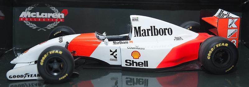 1993 #8 Mclaren Ford MP4/8 Ayrton Senna (Race Livery) SOLD 4/24/13