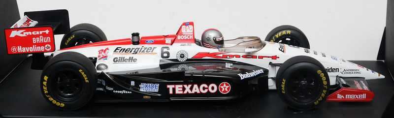 SOLD 1995 #6 Michael Andretti KMart Lola SIGNED