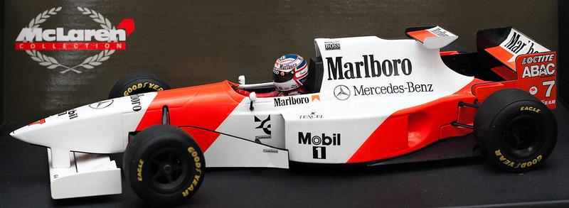 1995 #7 Mclaren Mercedes MP4/10 Nigel Mansell (Race Livery)