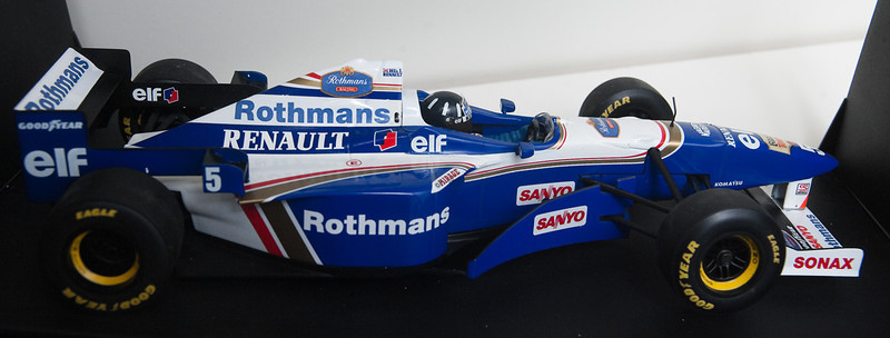 1996 #5 Williams Renault FW18 Damon Hill (Race Livery) SOLD 6/27