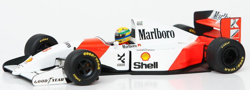 1996 #7 Mika Hakkinen Mclaren Mercedes MP4/11 (Race Livery) SOLD 11/15/13