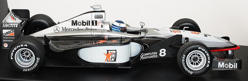 1998 #8 Mclaren Mercedes MP4/13 Mika Hakkinen SOLD 11/21/12