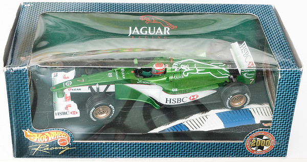 2000 #7 Jaguar Showcar Eddie Irvine SOLD 4/20/13