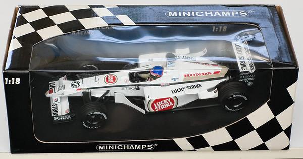 2001 #10 BAR Honda 003 Jacques Villeneuve (Race Livery) SOLD 5-31-13