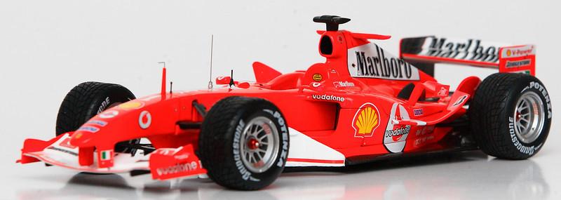 2004 #1 Michael Schumacher Ferrari F2004 Hot Wheels Elite SOLD 5/5/13