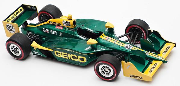SOLD 2011 #82 Geico KV Racing Tony Kanaan