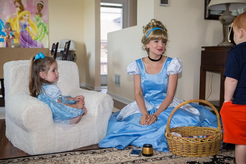 Singing with Cinderella.  A Dream is a Wish Your Heart Makes