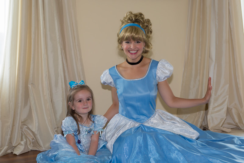The two Cinderellas.  So beautiful!