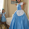 "Cinderella says, "" Oh my gosh!  Cate knows the princess wave so well!"""
