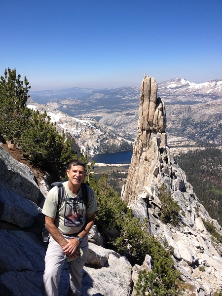 Eichorn Pinnacle and Cathedral Lake