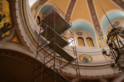 St. Mary's Orthodox Cathedral Renovation - June 2006