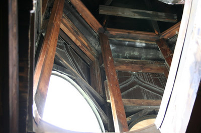 St. Mary's Orthodox Cathedral Renovation - Inside the Attic
