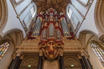 Organ at St. Bavo - Haarlem