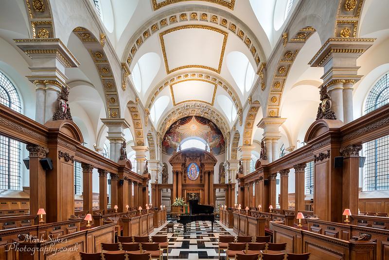 St Bride's Church, Fleet Street, London