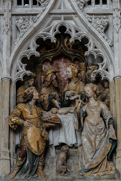 Amiens Cathedral, Herods's Banquet