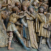 Amiens Cathedral Choirscreen Saint-Fermin' Attacked