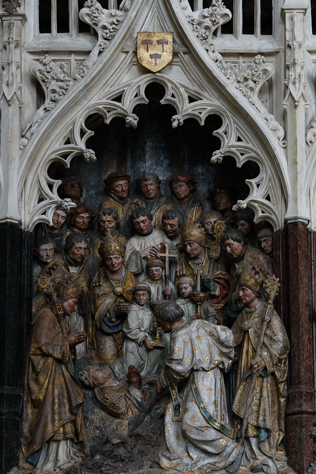 Amiens, Notre-Dame Cathedral, The Death of Saint-Fermin