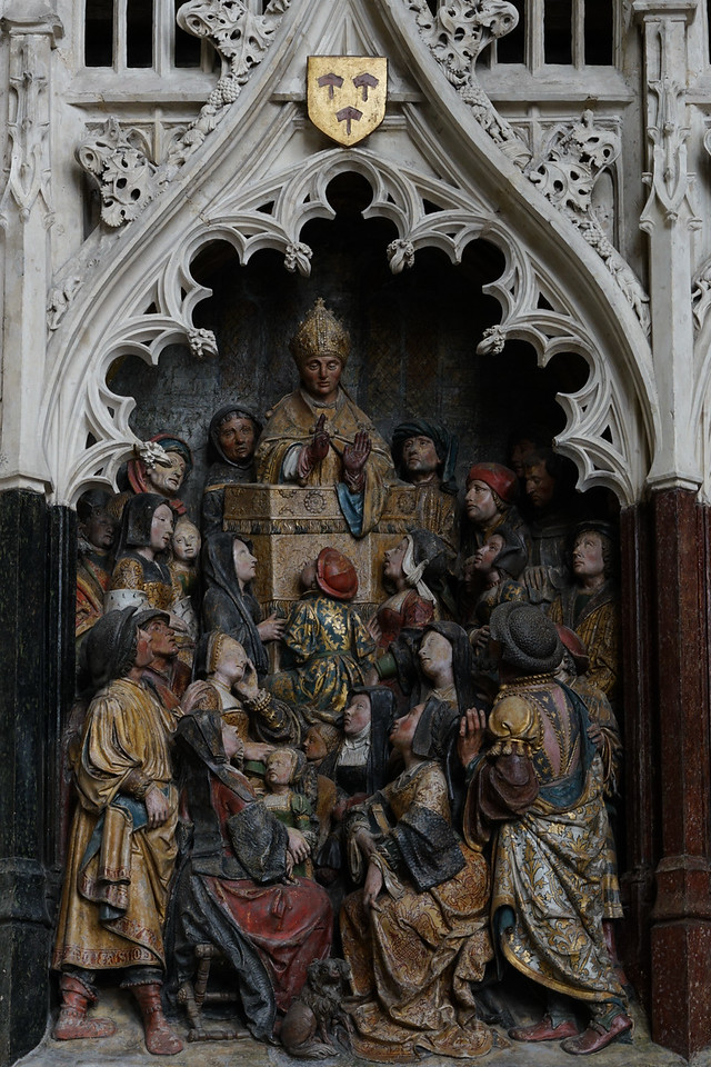 Amiens, Notre-Dame Cathedral Saint-Fermin Preaching