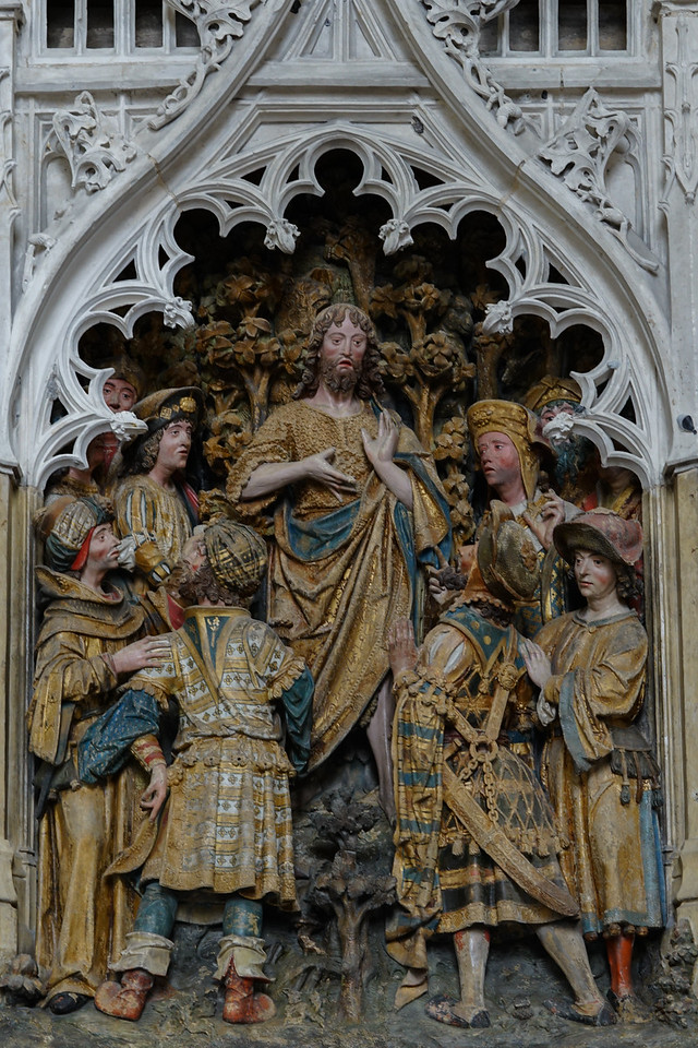 Amiens, Notre-Dame Cathedral , John the Baptist Revealing His MIssion