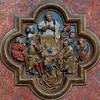 Amiens Cathedral Choirscreen Quatrefoil Saint-Fermin Preaching.