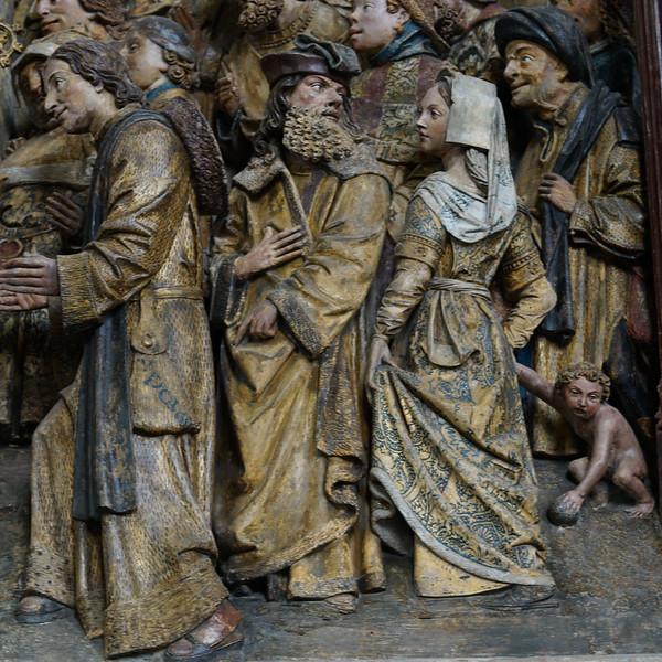 Amiens Cathedral Choirscreen Saint-Fermin  Scene