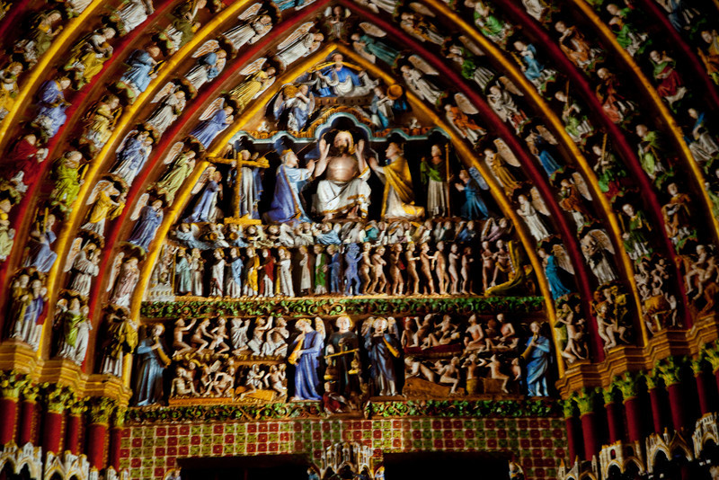 Amiens Cathedral, The Last Judgment Tympanum