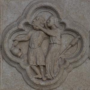 Amiens Cathedral West Facade Quatrefoil - Discorrd