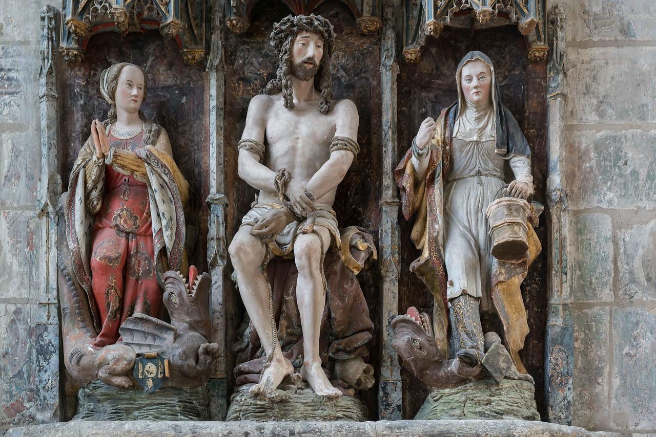 Beauvais, Saint-Etienne Church - The Man of Sorrows